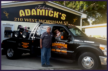 Johnny Adamick Wrecker Service Auto Towing Services